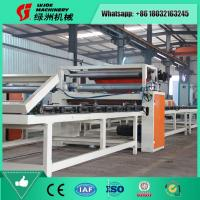 China Fully Automatic MgO Board PVC Film Lamination Machine Manufacturer on sale