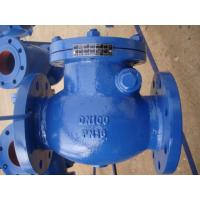 Wholesale ISO & PED certificate OEM cast iron / ductile iron body BS swing check valve from china suppliers