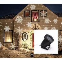 Wholesale Outdoor White Snowflake Laser LED Landscape Light Garden Holiday Time Christmas Decoration Lights from china suppliers