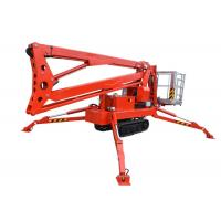 Hydraulic Lift Control : Wired remote control hydraulic boom lift high strength