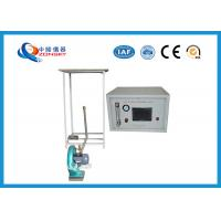 Wholesale Intelligent Flammability Testing Equipment , 5mm Wire Flammability Test Chamber from china suppliers