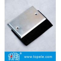 Wholesale Flat One Gang Aluminum Stamped Cover , Weatherproof Electrical Outlet Boxes from china suppliers