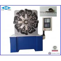 5.5 KW 220V CNC Spring Making Machine / Flat Wire Spring Forming Machine