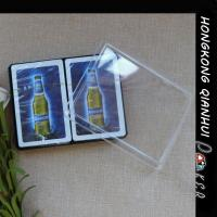 Wholesale CUSTOM PLASTIC PLAYING CARDS IN PLASTIC BOX FOR  BEER ADVERTISING PURPOSE from china suppliers