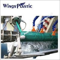 Wholesale Plastic PVC Spiral Reinforced Helix Suction Pipe Making Machine / Extrusion Line from china suppliers