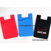 Wholesale Factory Produce Silicone Smart Wallet, Card Holder For Mobile from china suppliers