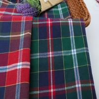 Wholesale Factory Wholesale Gingham Pattern Cotton Brushed Check Fabric from china suppliers