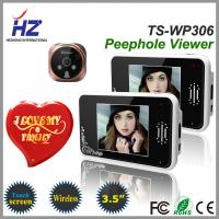 Wholesale remote unlocking 3.5''touch screen high resolution 2.4GHz wireless door viewer peephole from china suppliers