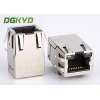 Wholesale Tap Up RJ45 with Transformer megabit ethernet magnetic connector jack custom from china suppliers