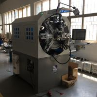 China Computerized Cam-less Spring Forming Machine With Wire Rotary 12 Axes on sale