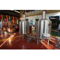 Wholesale Automated Beer Brewing System Micro Beer Equipment Stainless Steel 304 from china suppliers