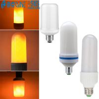 Wholesale E27 3W LED Burning Light Simulation Flame Lamp Bulb Fire Effect Yard Decorative 3 Modes LED Fire Bulb from china suppliers