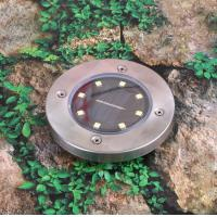 Wholesale Outdoor Underground Solar Powered Motion Sensor Light 8 LED 8-10H Lighting Time from china suppliers