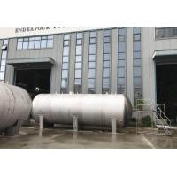 Wholesale Jhenten Stainless Steel Storage Tank , Coal Gas Tank Vertical / Horizontal Type from china suppliers