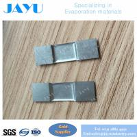 tungsten boat for evaporation thickness 0.1mm with W in 99.95% of purity