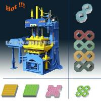 Wholesale QTY2-20 Manual Operated Fly ash Paving Brick Block Making Machine For Small Business from china suppliers
