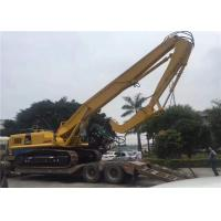 Wholesale Long Boom EX450 Excavator Mounted Vibratory Hammer tube pile / H beams pile driving from china suppliers