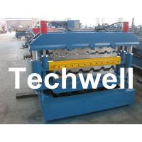 Wholesale 0 - 15m/min Forming Speed, PLC Control Dual Level Roll Former For Two Roofing Profiles from china suppliers