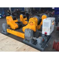 Wholesale Self Aligned Welding Rotator 40 Ton Turning Capacity PU Rollers Inverter Speed from china suppliers