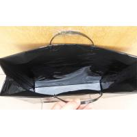 China Reusable Hard Plastic Handle Bag With Reinforced Paper Card on sale