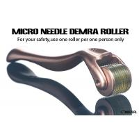 Wholesale Gold Handle Micro Needle Derma Roller for Body  /  Facial Aesthetic Skin Care from china suppliers