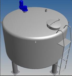 Quality Stainless Steel Sugar Melting Vat Stainless Steel Yoghurt Mixing Vat Stainless for sale
