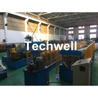 Wholesale Steel Galvanized Ridge Cap Roll Forming Machine With Hydraulic Cutting For Making Roof Panels from china suppliers
