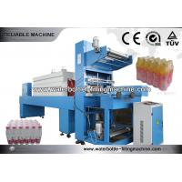 China 20 Kw Plastic Shrink Film Bottle Packing Machine , Stretch Wrapping Equipment on sale