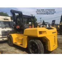Wholesale komatsu used 15ton fd150 diesel forklift , industrial 15t forklift from china suppliers