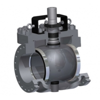 Buy cheap PEEK Seat Top Entry Trunnion Mounted Ball Valve 900LB from wholesalers