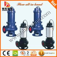 Wholesale WQ series electric motor submersible sewage pumps from china suppliers