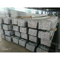 Quality Structural Steel Sections Galvanized Steel Equal Angle Hot Rolled For Strengthen for sale