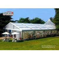UV Resistant Transparent Wedding Tent / Outside Wedding Tents for sale
