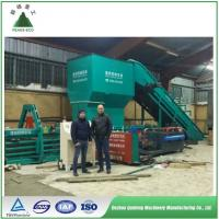 Buy cheap Full automatic horizontal hydraulic baler for PET plastic film/bottle baling from wholesalers