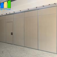 Wholesale Metal Folding Screen Acoustic Room Dividers Sliding Partition Door Aluminum Frame For Mosque from china suppliers