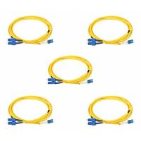 Buy cheap 2 Meters Duplex LC To SC Single Mode Fiber Patch Cable 0.3dB Interchangeability from wholesalers