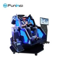 China 3.8KW new technology wholesales factory price iron man VR shooting game 9D cinema simulator with discount on sale