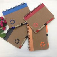 China Stone Recycled Eco Friendly Notebooks with Environmental Protection Logo on sale