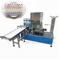 Buy cheap Paper Drinking Straw Packing Machine For Single Package , Long Working Time from wholesalers