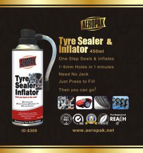 Buy cheap White Aeropak Emergency Tyre Repair Sealant Inflator 450ml 650ml from wholesalers