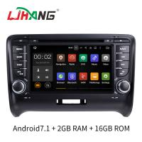 Wholesale Android 7.1 Car Radio Audi Car DVD Player With Wifi BT Gps AUX Video from china suppliers