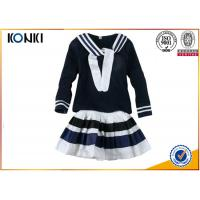 Wholesale Cotton Woven Technics Girls School Uniform Dresses With Long Sleeve from china suppliers