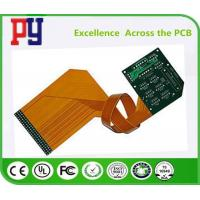 Quality Double Sided Rigid Flex PCB Immersion Gold 3/3 MIL Line Width / Spacing High for sale