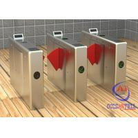High Class Hotel / School / Office Building Use Half Height Turnstile With Multi Acess Control System