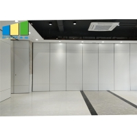 Wholesale Sound Proof Absorbing Movable Sliding Folding Wall Partition Panel With Pass Door from china suppliers