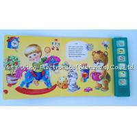 Quality Voice recordable 6 Button Animal Sounds Book with Multi Sound Panels for sale