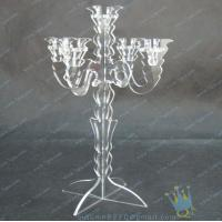 Buy cheap CH (8) wholesale mercury Acrylic candle holders from wholesalers