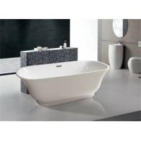 Wholesale Solid Surface Small Freestanding Soaking Tub Gross Weight 46.5kg Customized Color from china suppliers
