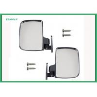 Wholesale Universal Sporty Golf Cart Side View Mirrors Extra Wide Rear View Mirror from china suppliers