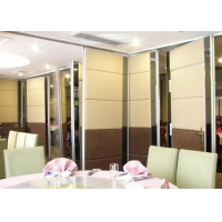 Wholesale Ebunge Aluminium Movable Partition Sooden Sliding Folding Wall With Soft Sponge PU Leather Cover For Restaurant from china suppliers
